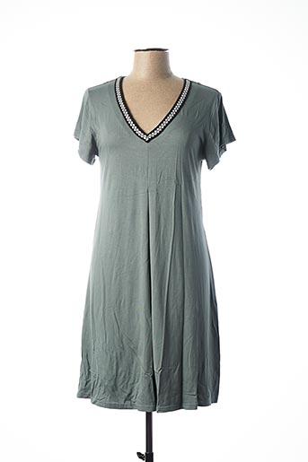 Chemise de nuit gris CANAT pour femme
