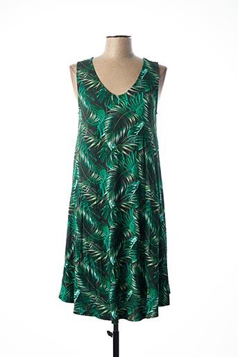 Chemise de nuit vert CANAT pour femme