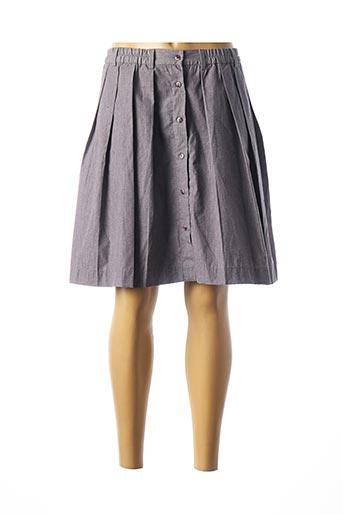 Jupe mi-longue gris VERO MODA pour femme