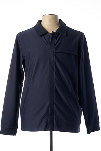 T-shirt manches longues bleu PREMIUM DE JACK AND JONES pour homme