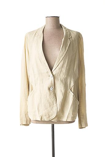 Veste casual beige SANDWICH pour femme