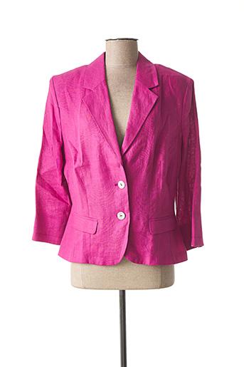 Veste chic / Blazer violet CONCEPT K pour femme