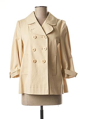Veste casual beige TWINSET pour femme