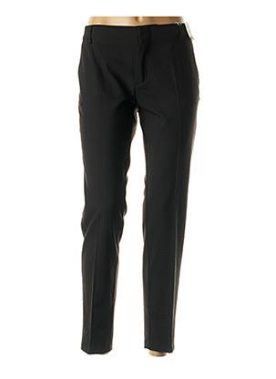 Pantalon chic noir REIKO pour femme