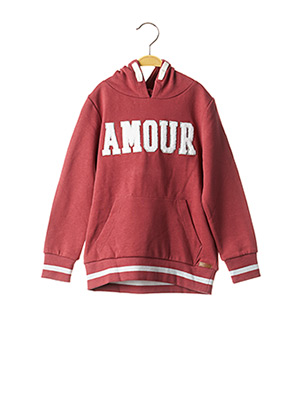 Sweat-shirt rouge NAME IT pour fille