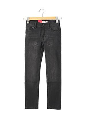 Jeans coupe slim noir LEVIS pour garçon
