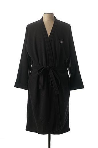 Robe de chambre noir ACHEL pour homme