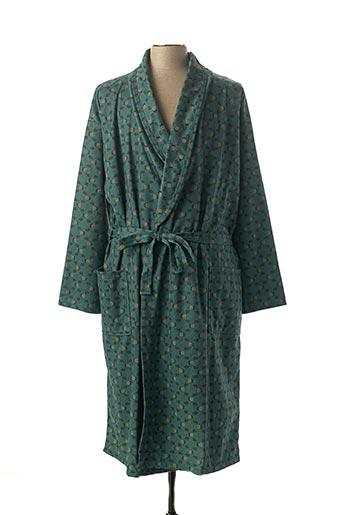 Robe de chambre vert ACHEL pour homme