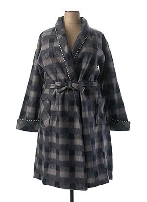 Robe de chambre gris F COLLECTION pour femme