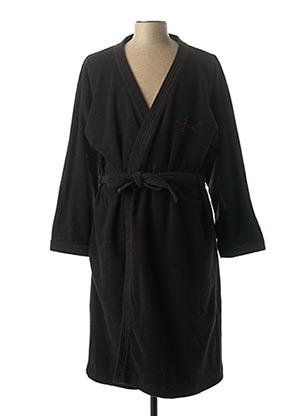 Robe de chambre noir PIERRE CARDIN pour homme