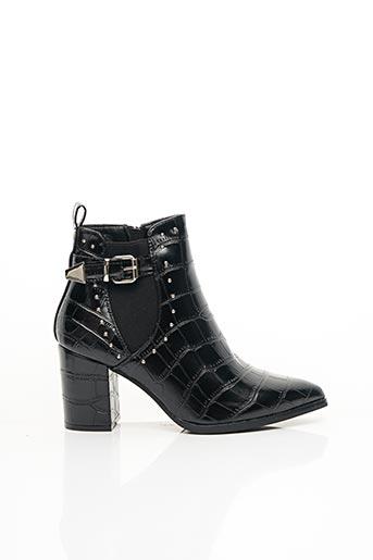 Bottines/Boots noir CELIYA pour femme