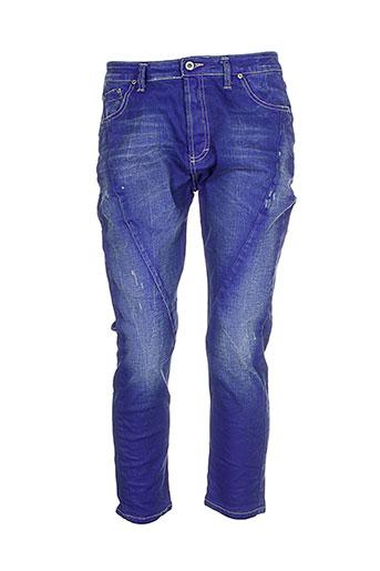 Pantalon casual bleu PLEASE pour femme
