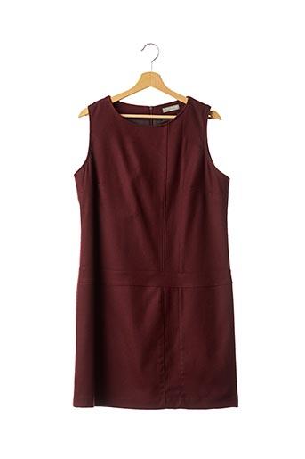 Robe mi-longue rouge FLEUR DE SEL pour femme