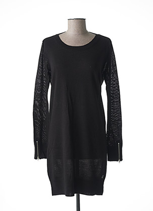 Robe pull noir MAISON SCOTCH pour femme