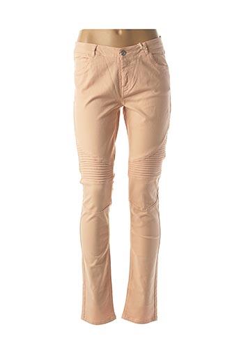Pantalon casual rose MKT STUDIO pour femme