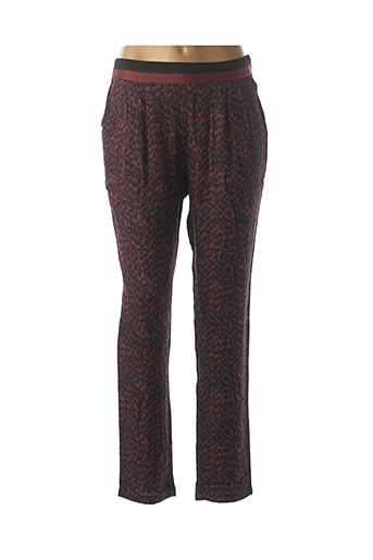 Pantalon casual rouge SEE U SOON pour femme