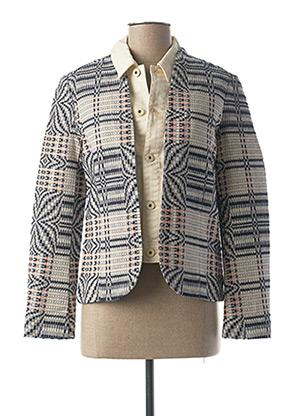 Veste casual bleu MAISON SCOTCH pour femme