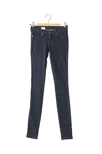 Jeans skinny bleu DR DENIM pour femme