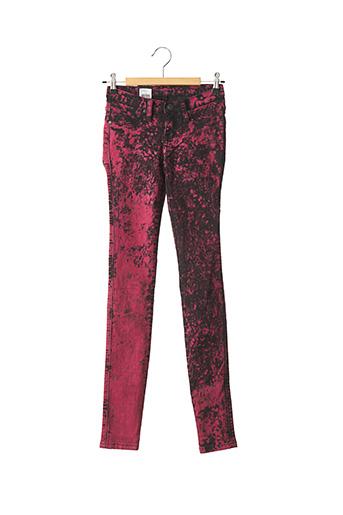 Jeans skinny violet DR DENIM pour femme