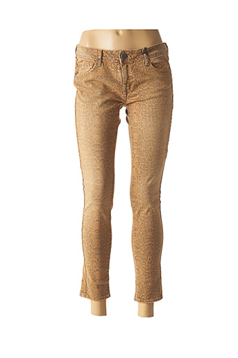 Pantalon 7/8 marron CIMARRON pour femme