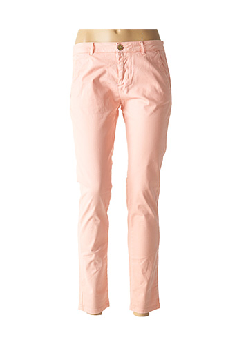 Pantalon casual rose BÔ-M pour femme