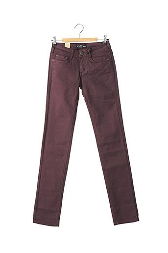 Pantalon casual violet CIMARRON pour femme