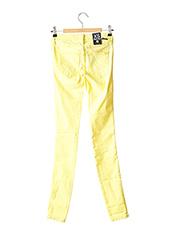 Jeans coupe slim jaune DR DENIM pour femme seconde vue