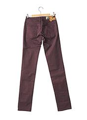 Pantalon casual violet CIMARRON pour femme seconde vue