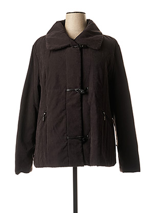 Manteau court noir NURIA VILARDAGA pour femme