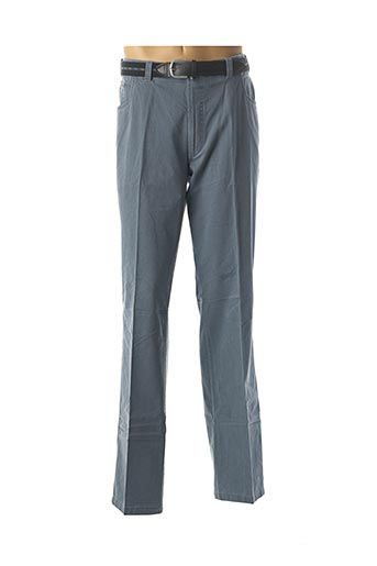 Pantalon chic bleu LUIGI MORINI pour homme