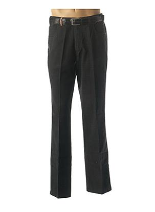 Pantalon chic noir CAFONE pour homme