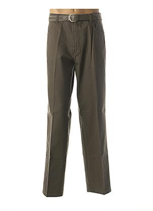 Pantalon chic vert PIONIER pour homme
