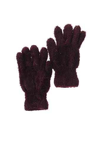 Gants rouge PERRIN pour femme