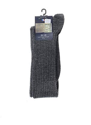 Chaussettes gris PERRIN pour homme