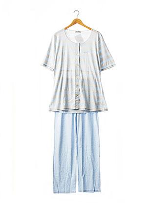 Pyjama bleu MASSANA pour femme
