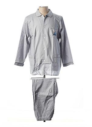 Pyjama gris F COLLECTION pour homme