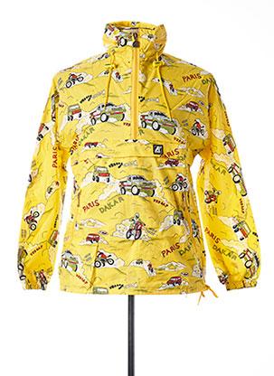 Coupe-vent jaune K. WAY pour homme