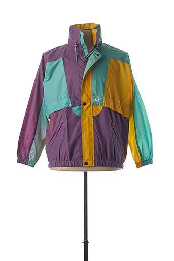 Coupe-vent violet K. WAY pour homme
