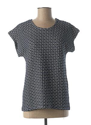 T-shirt manches courtes bleu JENSEN pour femme