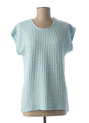 T-shirt manches courtes vert JENSEN pour femme