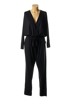 Combi-pantalon noir COSSAC pour femme