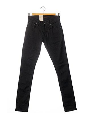 Jeans coupe slim noir NUDIE JEANS CO pour femme