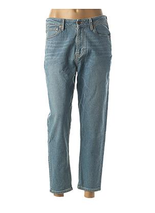 Jeans boyfriend bleu KUYICHI pour femme