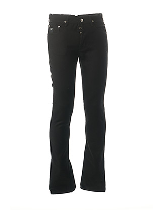 Jeans coupe slim noir APRIL 77 pour homme