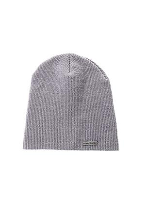 Bonnet gris HOODLAMB pour unisexe