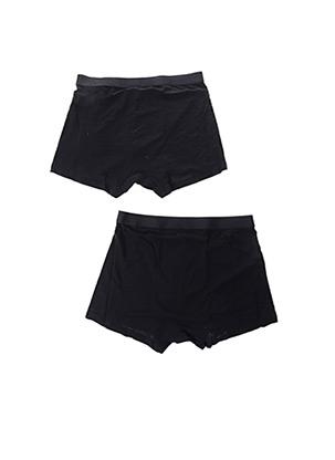 Shorty/Boxer noir ORGANIC BASICS pour homme