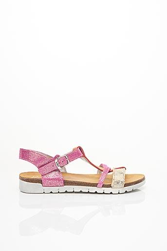 Sandales/Nu pieds rose BOPY pour fille