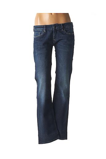 Jeans coupe droite bleu KAPORAL pour femme