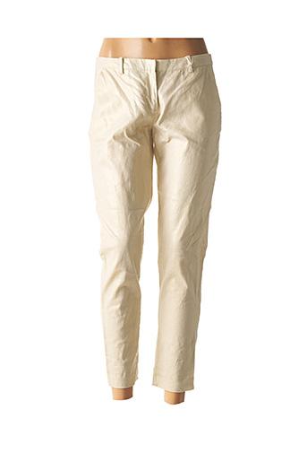 Pantalon 7/8 beige LES P'TITES BOMBES pour femme