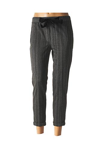 Pantalon 7/8 gris TEDDY SMITH pour femme
